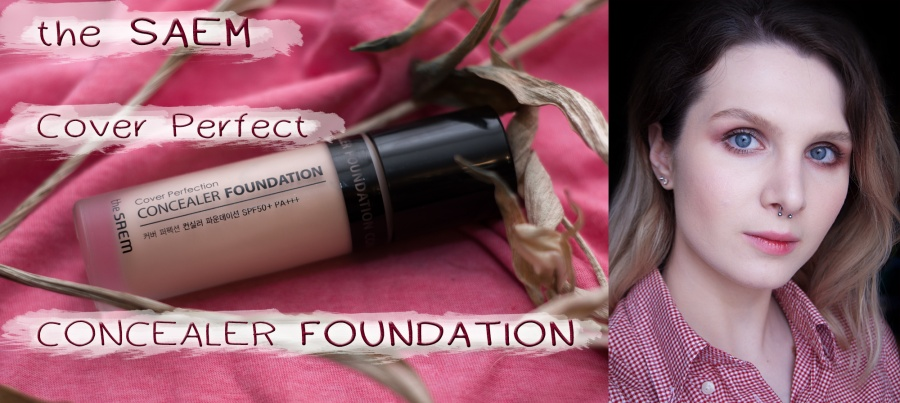 Beauty: Плотный кореец the Saem Cover Perfection Concealer Foundation