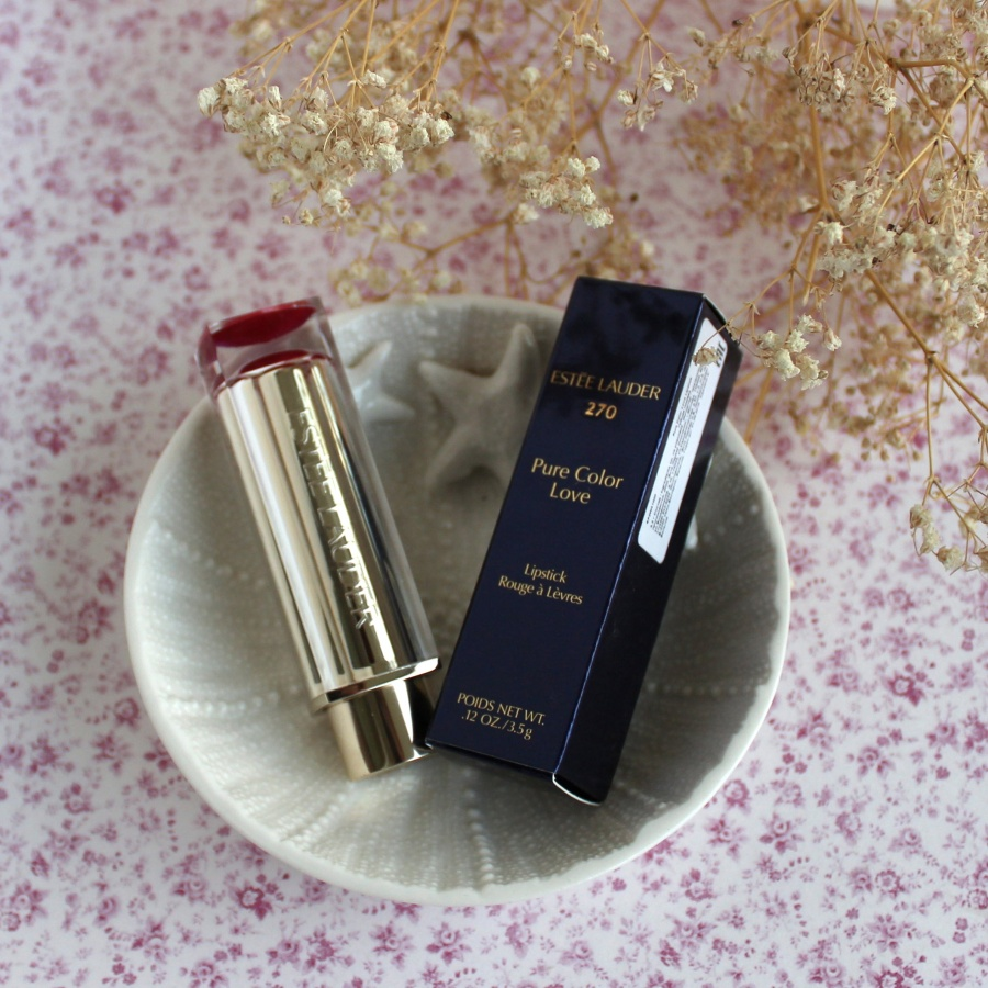 Beauty: Замечательна� помада Estee Lauder Pure Color Love Lipstick #270 Haute & Cold