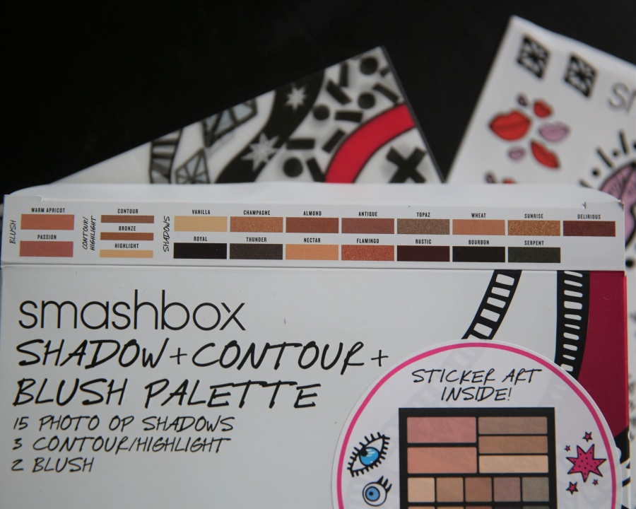 Beauty: Smashbox Drawn In. Dicked Out. Shadow Plus Contour Plus Blush Set