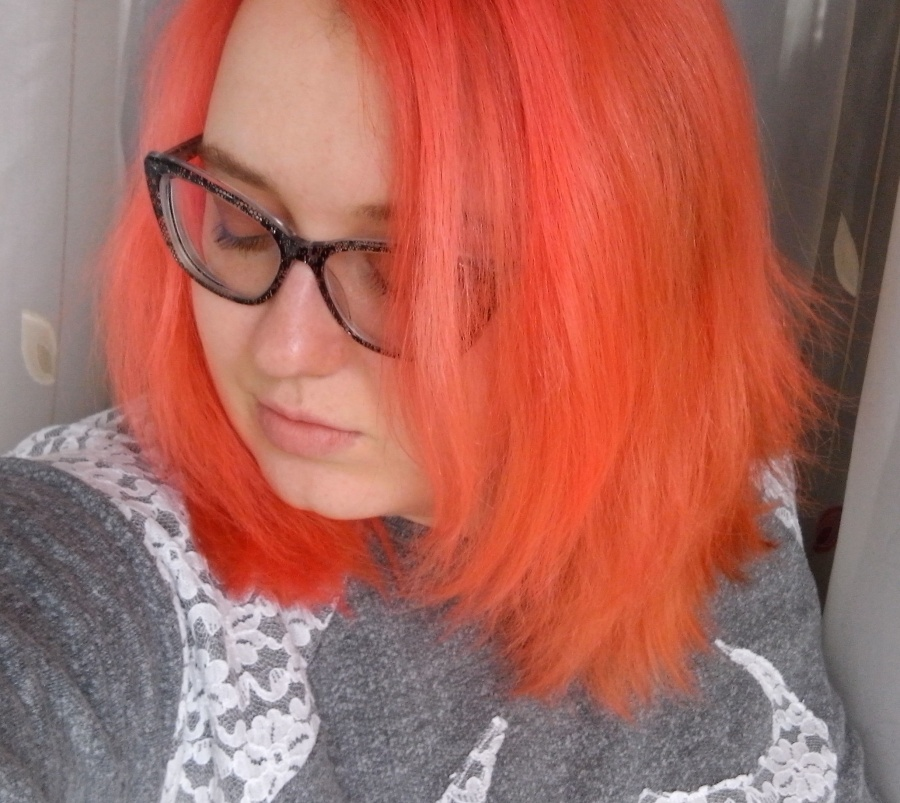 All about hair: Peach hair. Lime Crime Unicorn Hair