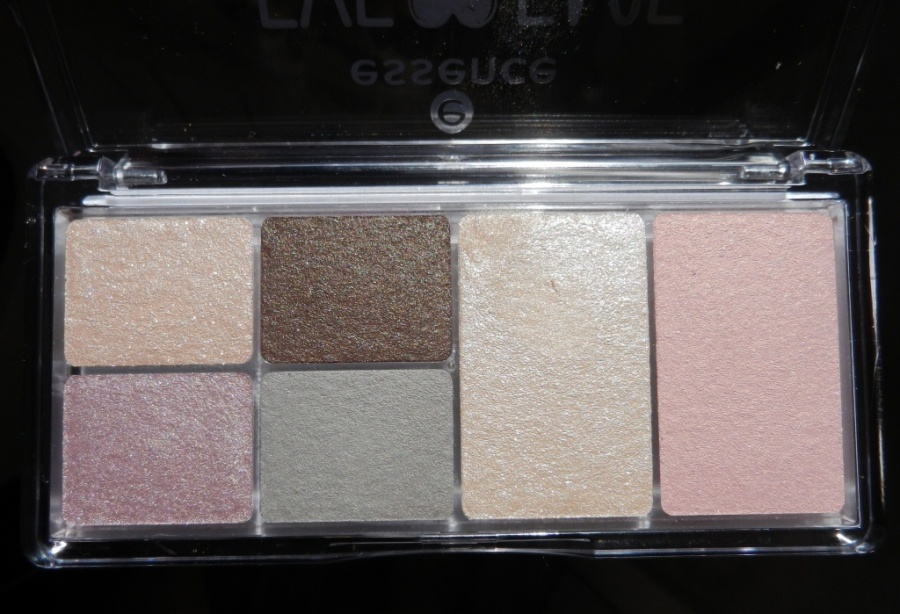 Beauty: Essence eye & face palette 01 - glow for it - а надо ли?