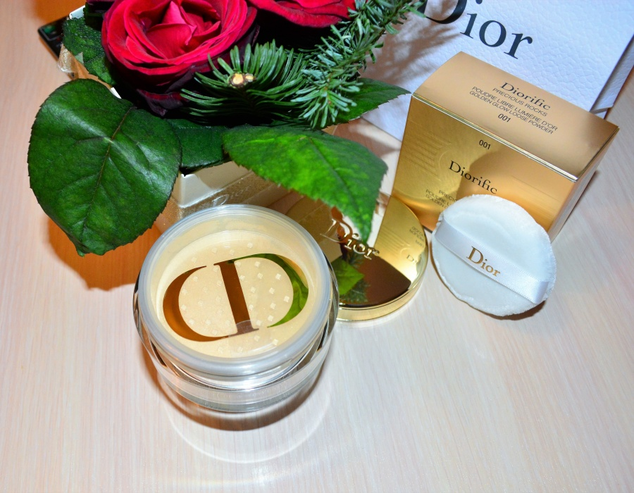 Beauty: Блог  Diliya_Luts: Diorific Golden Glow Loose Powder № 001 Precious Rocks