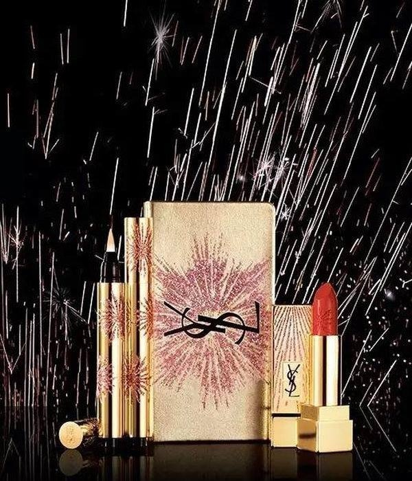 Releases & limited editions: Рожде�твен�ка� коллекци� маки�жа  Yves Saint Laurent Dazzling Lights 2017