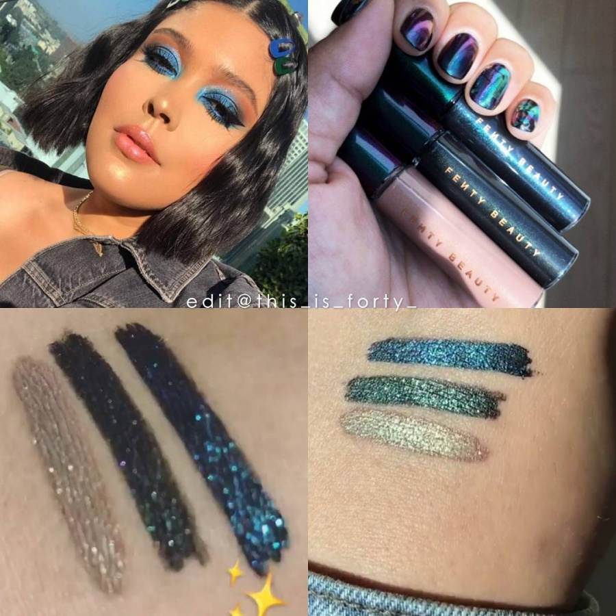 Releases & limited editions: Празднична� коллекци� маки�жа Galaxie Collection от бренда Fenty Beauty