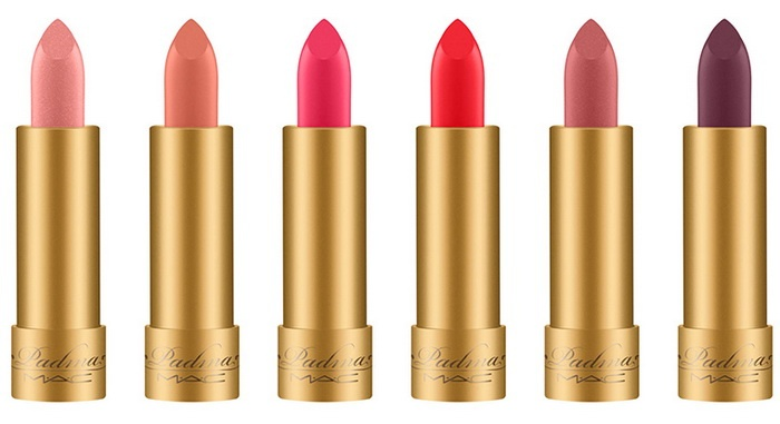 Releases & limited editions: MAC & Padma Lakshmi Spring Makeup Collection 2018