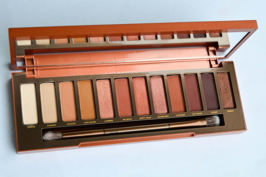 Beauty: Naked Heat Eyeshadow Palette