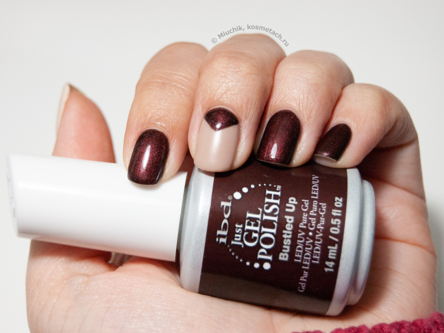 NailCare: О�еннее на�троение � IBD Just Gel Polish – Bustled Up